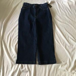 Capris Size 6 Blue Denim Pants